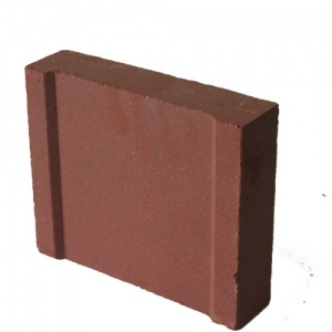 Magnesium iron heat storage brick